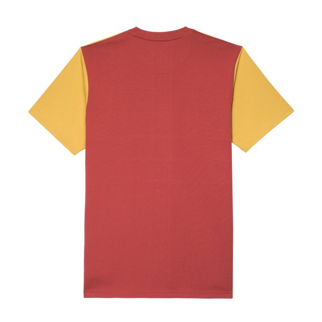 TSHIRT AMI YELLOW/BORDO