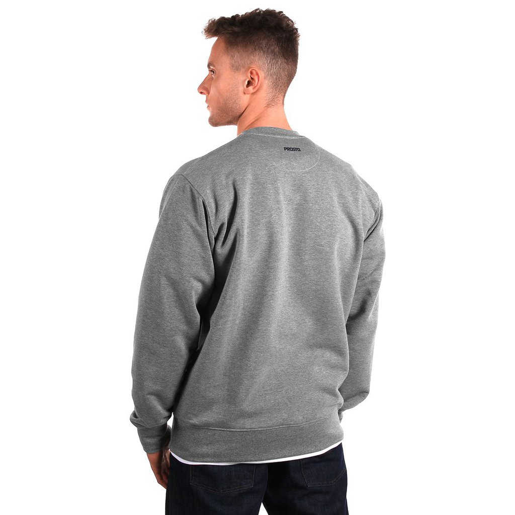 SWEATSHIRT DISCONTINUED MEDIUM HEATHER GREY