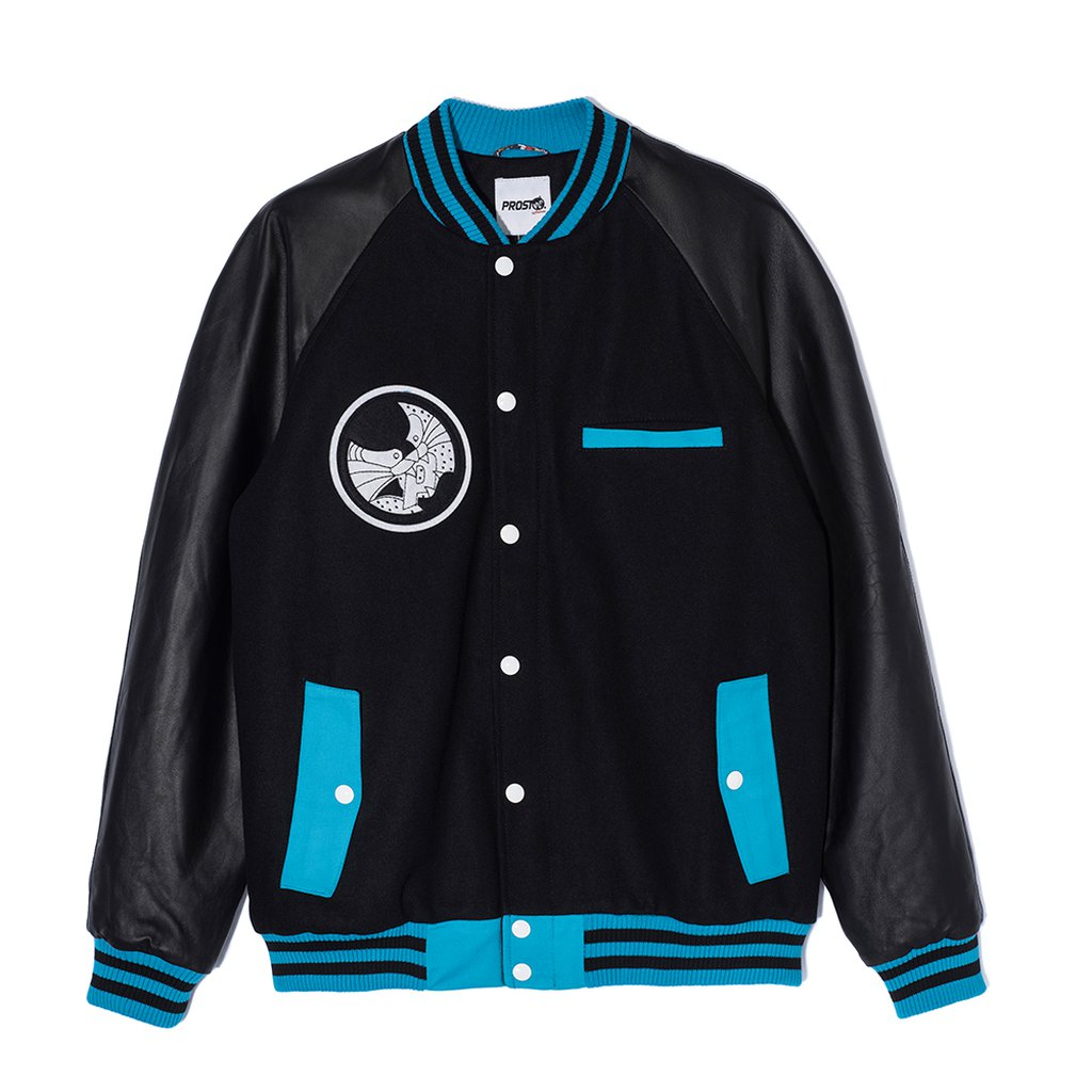 JKT-DAVEE BASEBALL BLACK
