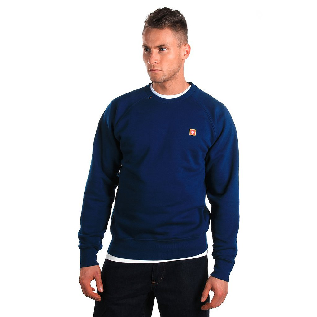 SWEATSHIRT BACKYARD NAVY