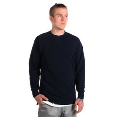 EL SWEATSHIRT DEEP MEDIUM HEATHER NAVY