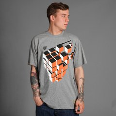 EL T-SHIRT CUBE MEDIUM HEATHER GREY