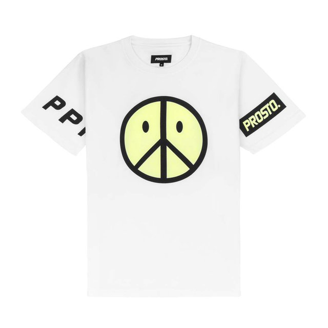 PEACE ACID WHITE