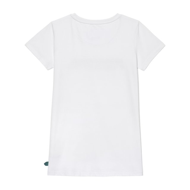 TSHIRT LEAF WHITE
