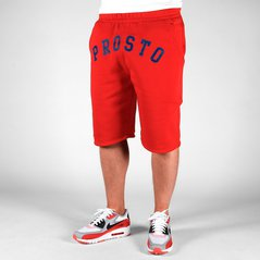 ST SHORT SWEAT FRONT RED