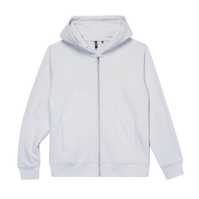 ZIP HOODY ROYAL GREY