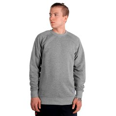 EL SWEATSHIRT DEEP MEDIUM HEATHER GREY