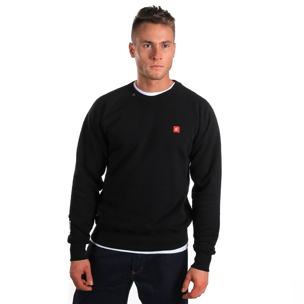 SWEATSHIRT BACKYARD BLACK