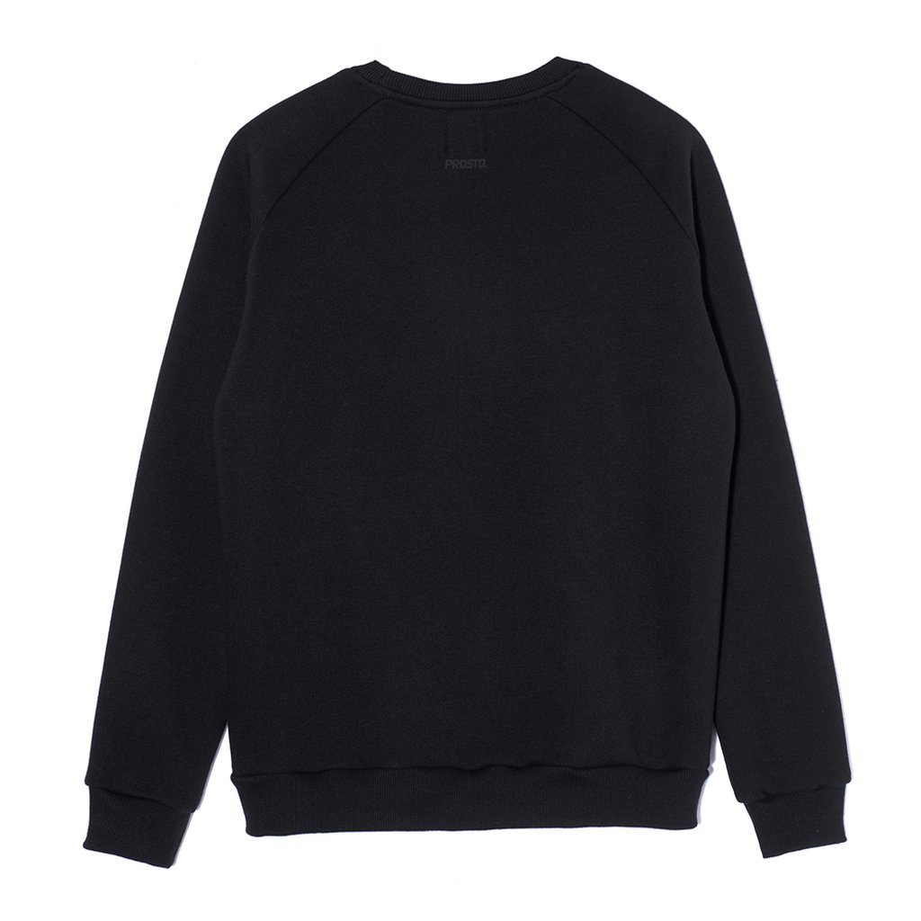 SWEATSHIRT SHIELD BLACK