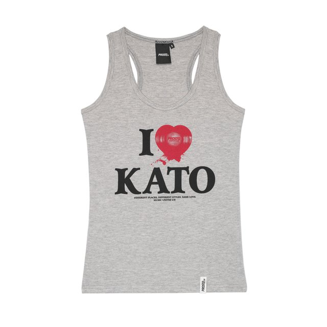 TS LOCAL KATO WOMAN MEDIUM HEATHER GREY