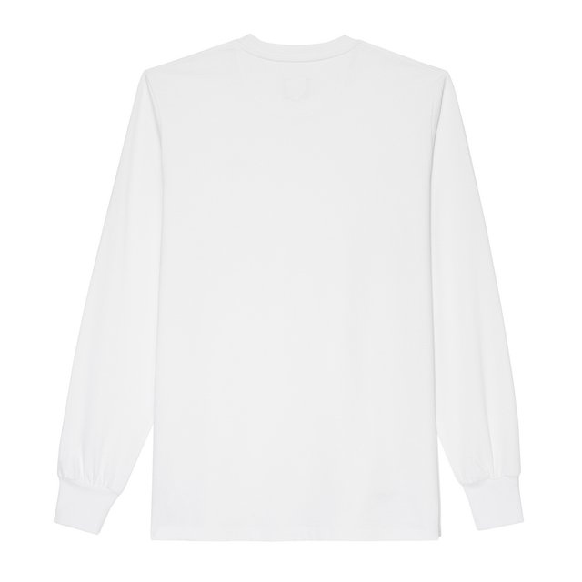 LONGSLEEVE FIRM WHITE