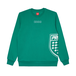 CREWNECK SHILSIDE DARK GREEN