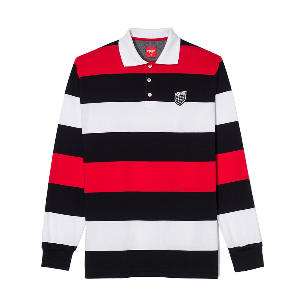 POLO LONG HAKA BLACK