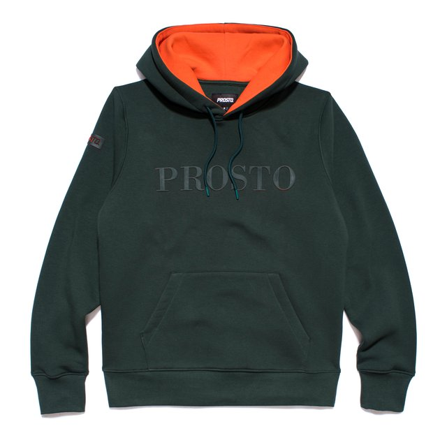 HOODY TM19 GREEN