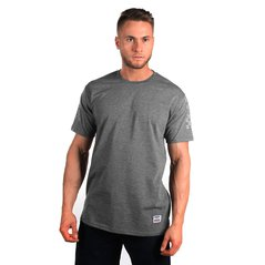 ST TSHIRT SAFETY MEDIUM HEATHER GREY