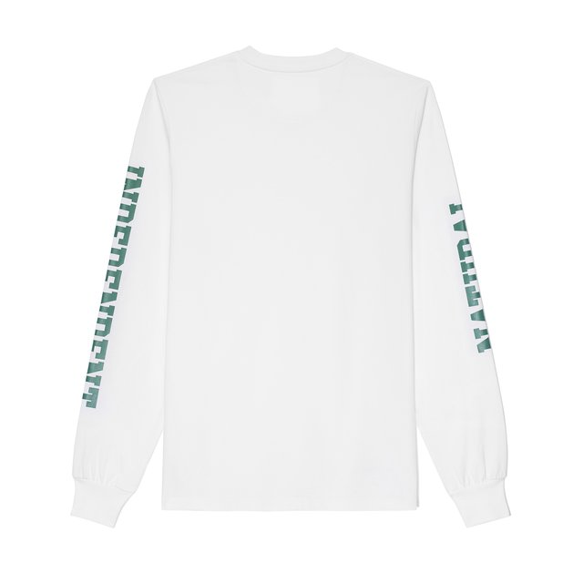 LONGSLEEVE NATURAL WHITE