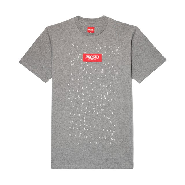 T-SHIRT WASH GREY