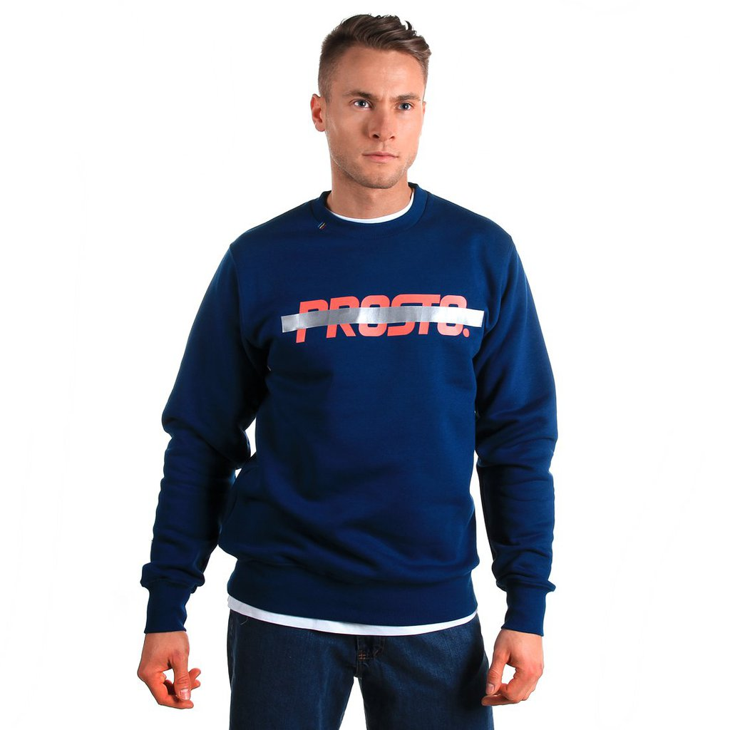 SWEATSHIRT CROSSED NAVY