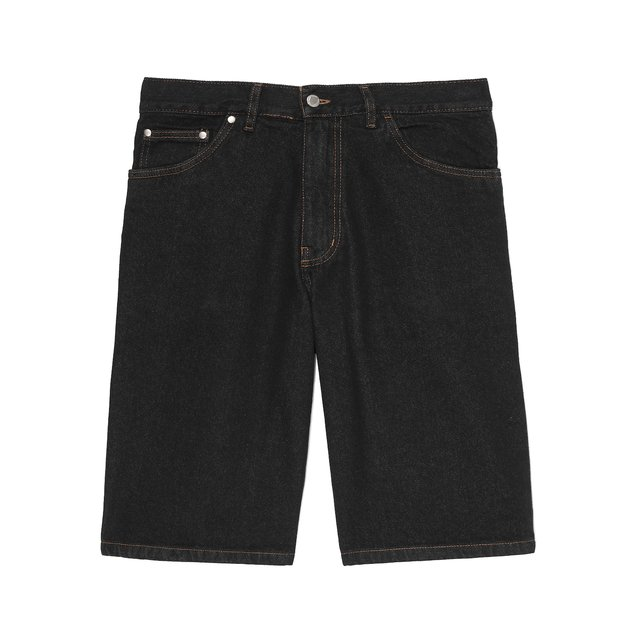JEANS SHORTS FLAVOUR CUT BLACK