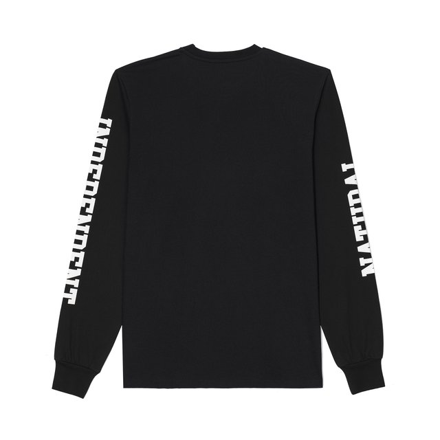 LONGSLEEVE NATURAL BLACK