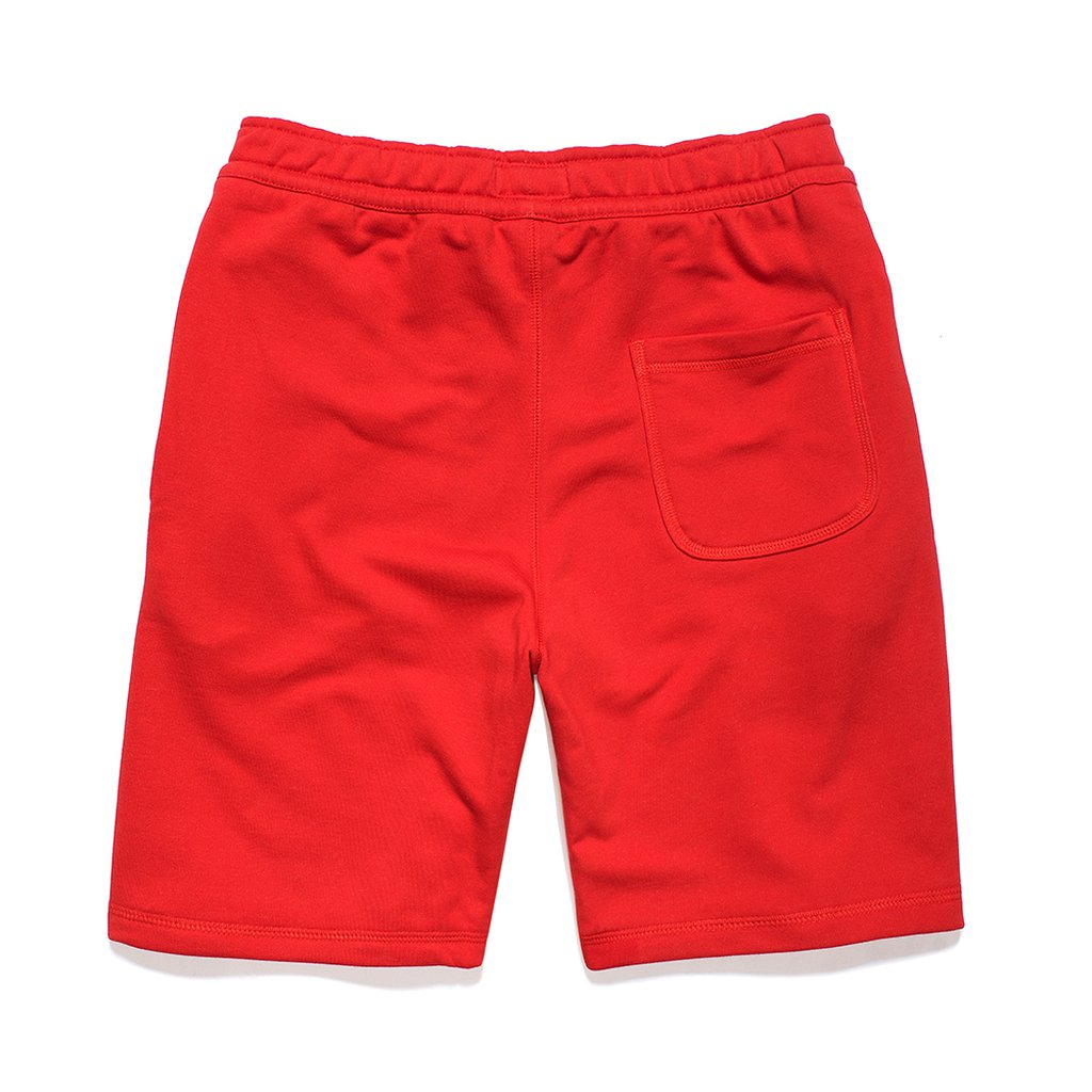 P SHORTSPANTS BOXLOGO RED