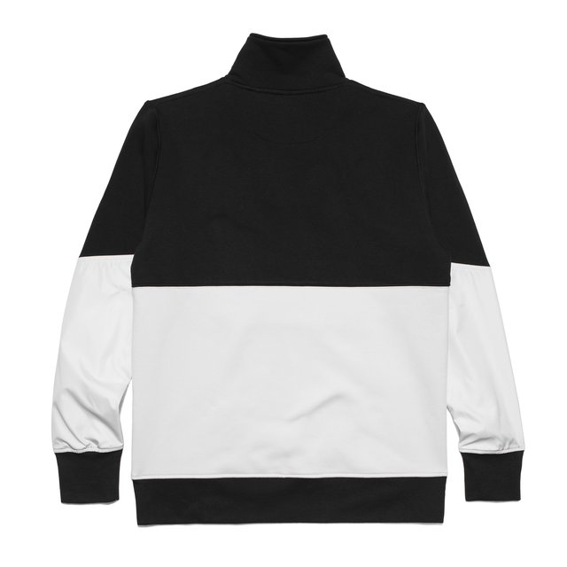 HALF ZIP SWEATSHIRT WE GOT IT BLACK