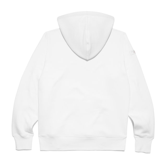 HOODY TM19 WHITE