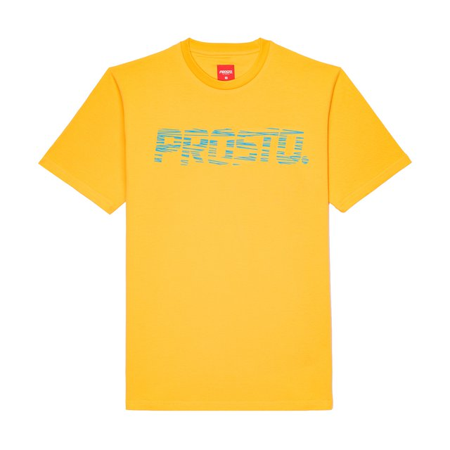 T-SHIRT SCRATCHE DARK YELLOW