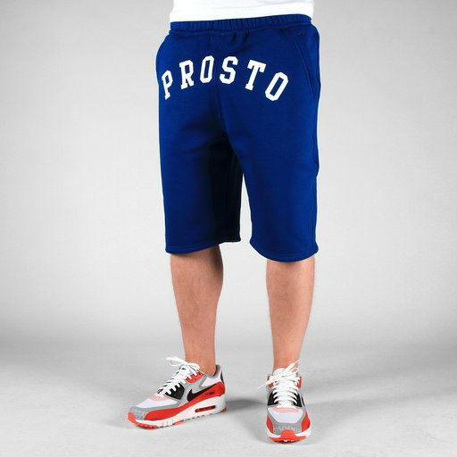ST SHORT SWEAT FRONT NAVY