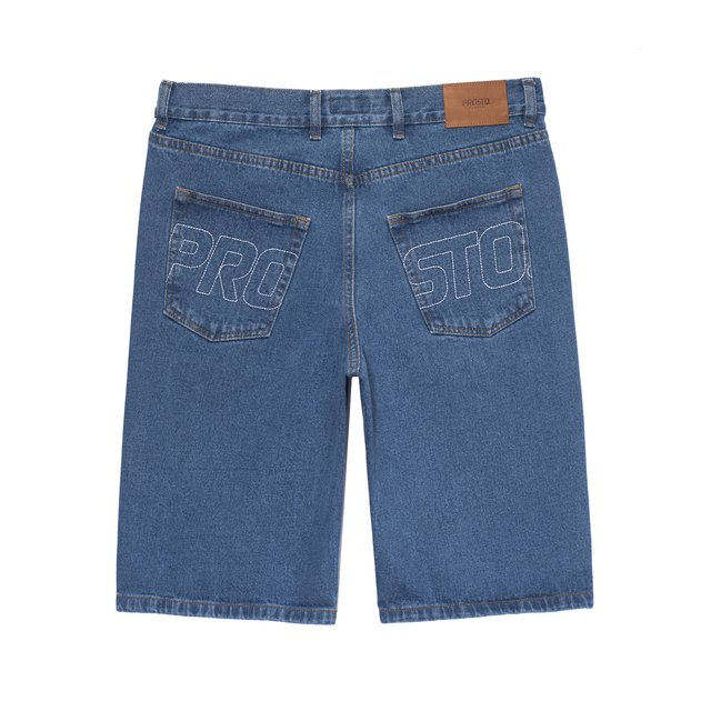 JEANS SHORTS FLAVOUR CUT BLUE