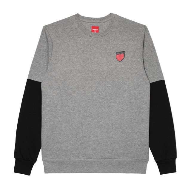 CREWNECK BACKLOG GREY
