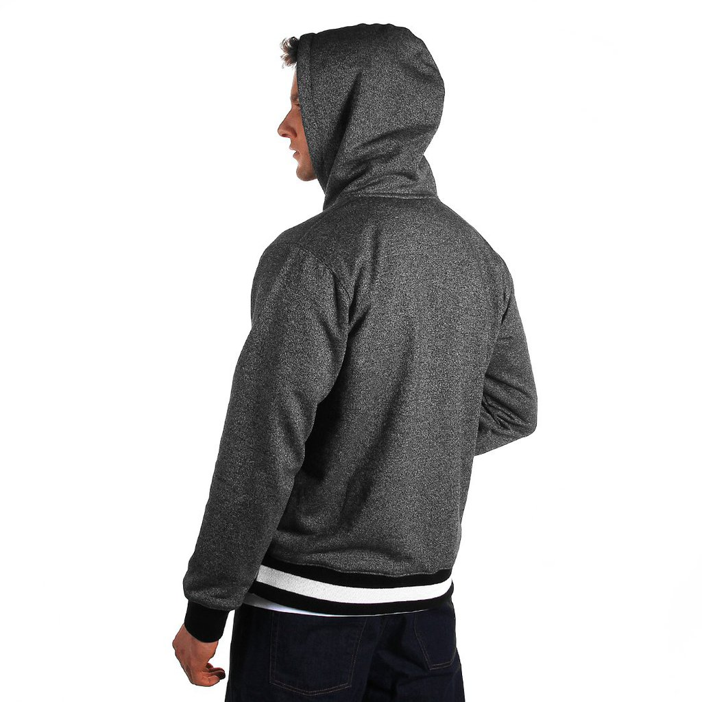 HOODY NOTABLE KL PEPPER HEATHER GREY