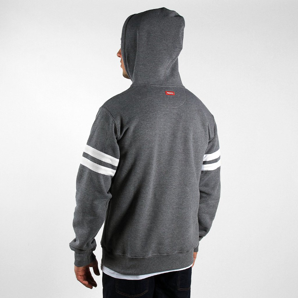 HOODY BOTH MEDIUM HEATHER GREY