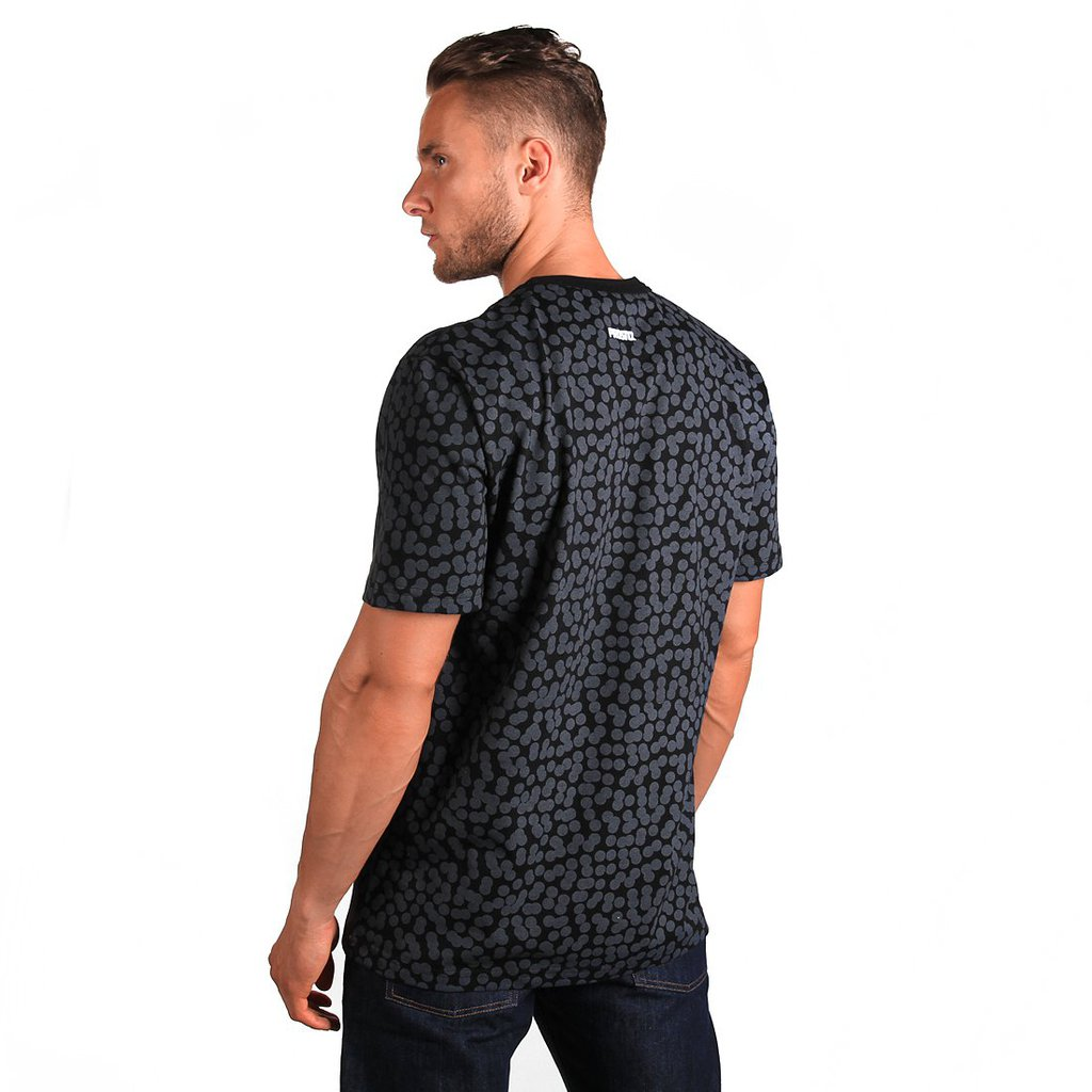 T-SHIRT DOTS BLACK