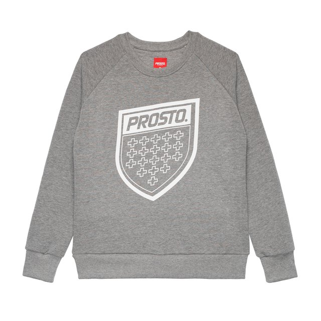 CREWNECK FIGURE GREY