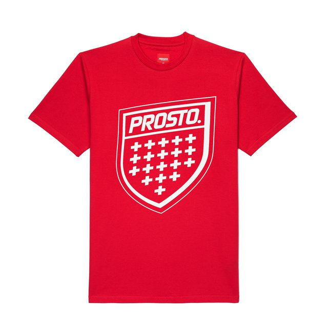 T-SHIRT SHIELD XX RED