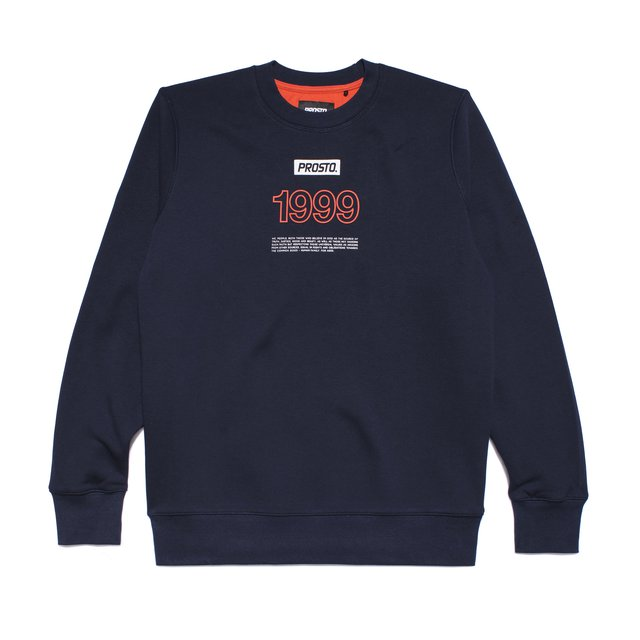 CREWNECK MODEST SPRING NAVY