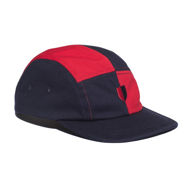5PANEL CHEZZY DARK BLUE/RED