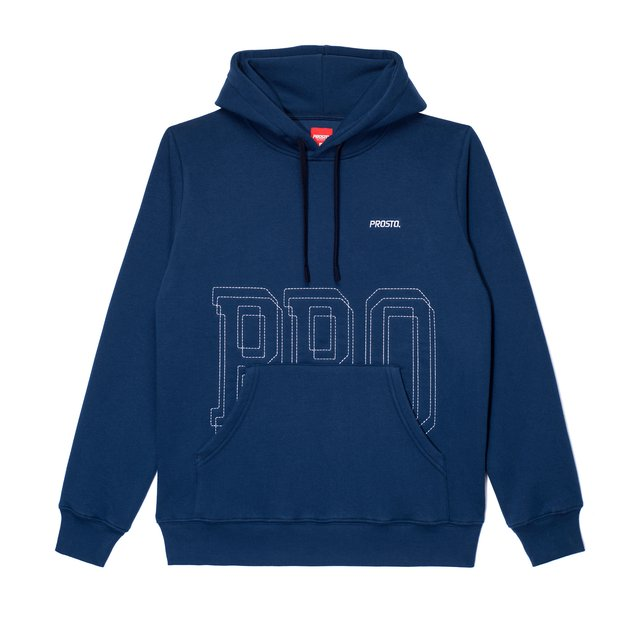 HOODIE LOCKS DARK BLUE