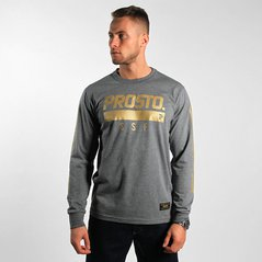 KL LONGSLEEVE ACCENT ANTHRACITE-GOLD