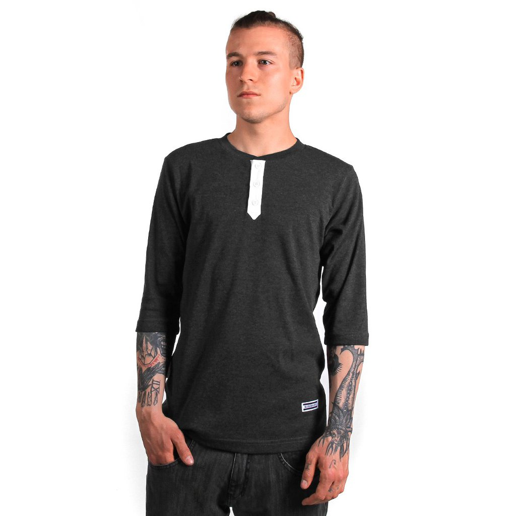LONGSLEEVE SAILOR MEDIUM HEATHER GREY