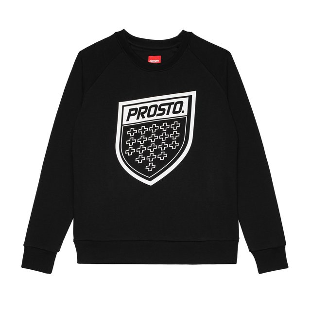 CREWNECK FIGURE BLACK