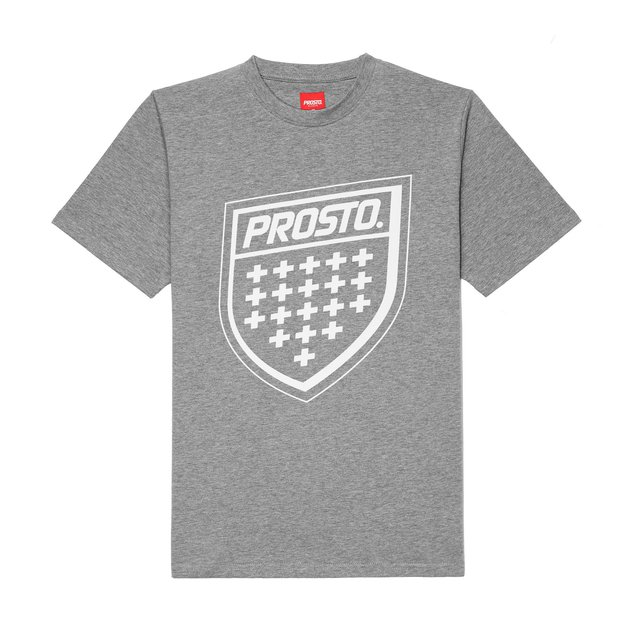 T-SHIRT SHIELD XX GREY