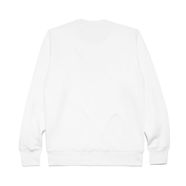 CREWNECK MODEST SPRING WHITE