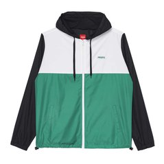 JACKET WINDRUNNER POURING SPRING GREEN