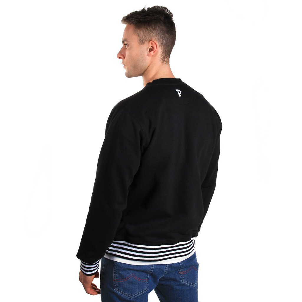 SWEATSHIRT ARIAL BLACK