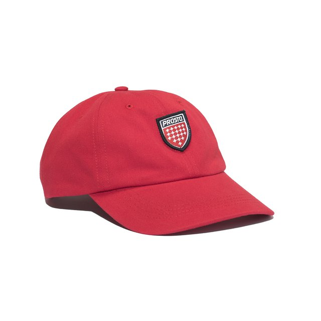 6 PANEL SHIELD RED