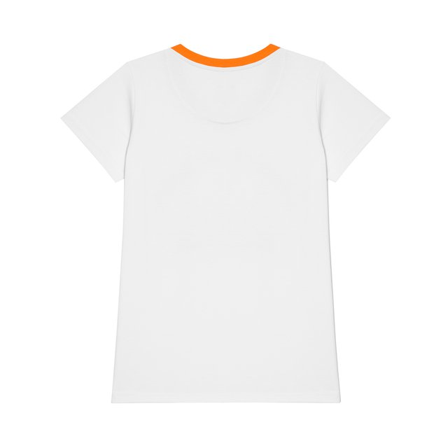 T-SHIRT SHINES WHITE