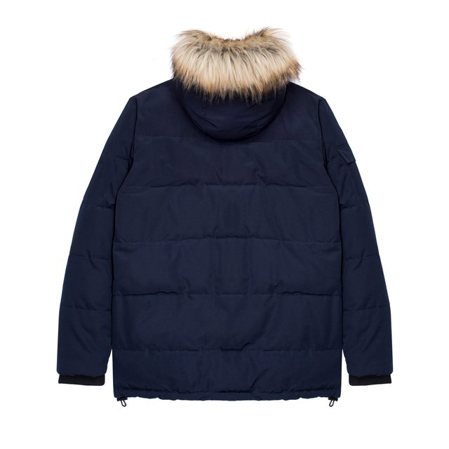 LONG JACKET NAVY