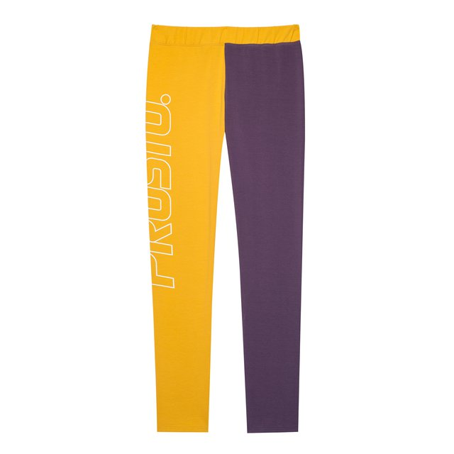 LEGGINSY QUINN YELLOW/VIOLET